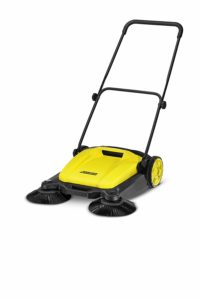 Karcher for sweeping laminated floor